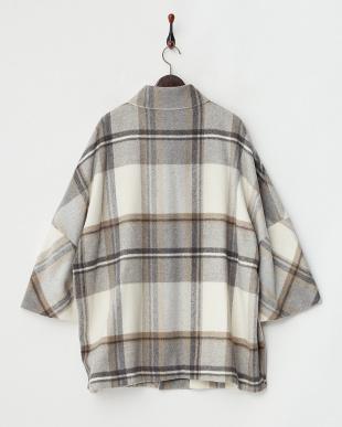 グレーベージュ系  NATURALE Short Coat見る