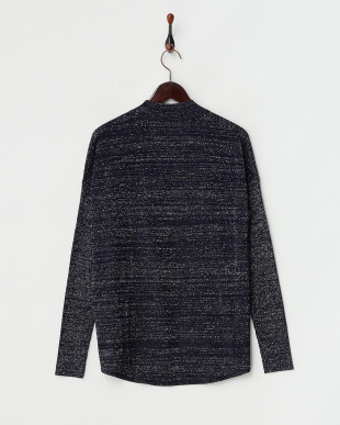 ネイビー  MAREA Knitted Jacket見る
