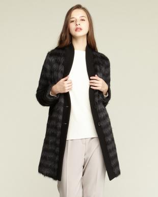 BLACK OPTICAL Short Coat・アルパカ見る
