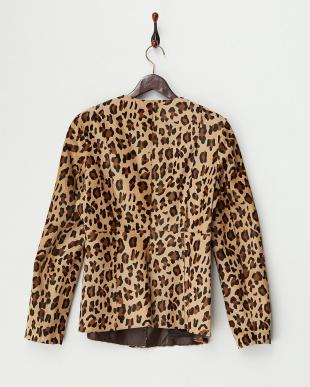 CAMEL EDERA Leather Jacket見る