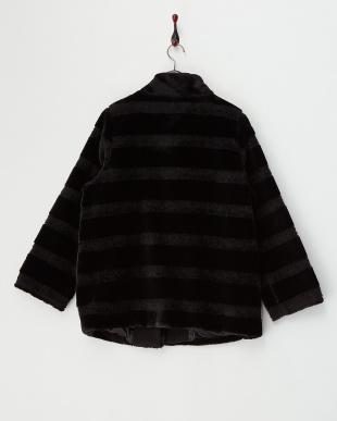 BLACK NOTTURNO Short Coat見る