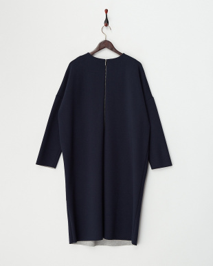 MIDNIGHT NAVY ORLANDO Jersey Dress見る