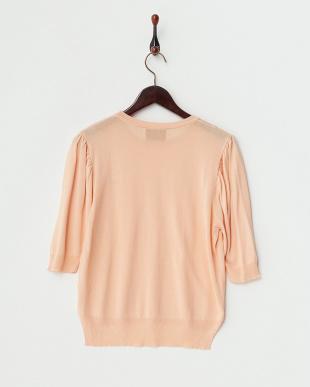 ピンク  婦人ハーフスリーブセーター見る