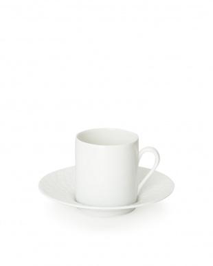 白 リモージュ コーヒーカップ&ソーサー6客セット見る