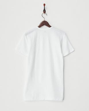 ホワイト Soft&Warm 丸首半袖Tシャツ見る