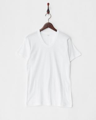 ホワイト LIVE BODY VネックTシャツ 3枚セット見る