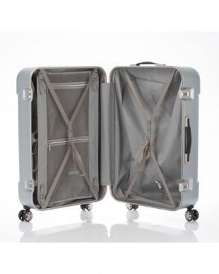 ダークブラウン  ナローL スーツケース90L見る