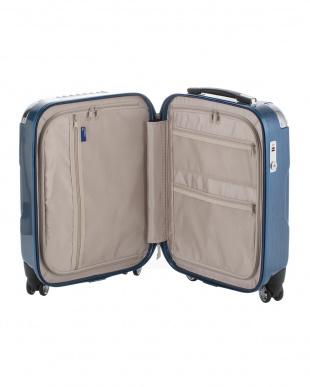 ヘアラインブルー  キャパリエジッパーハードS スーツケース38L見る
