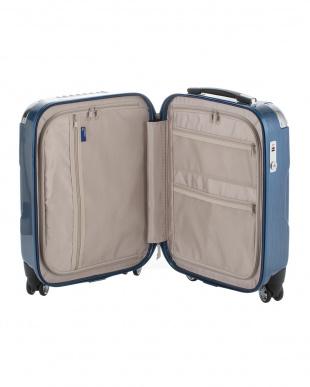ヘアラインレッド  キャパリエジッパーハードS スーツケース38L見る