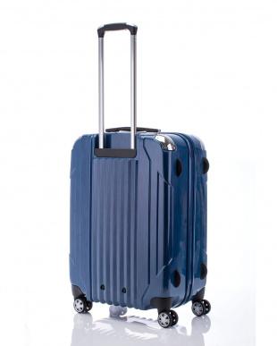 ヘアラインブルー  キャパリエジッパーハードM スーツケース67L見る