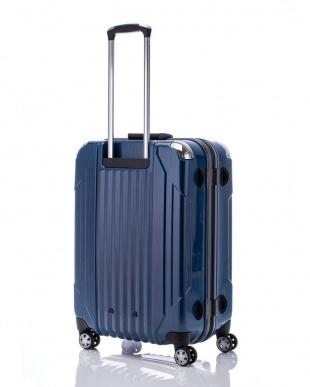 ヘアラインブルー  キャパリエフレームハードM スーツケース75L見る