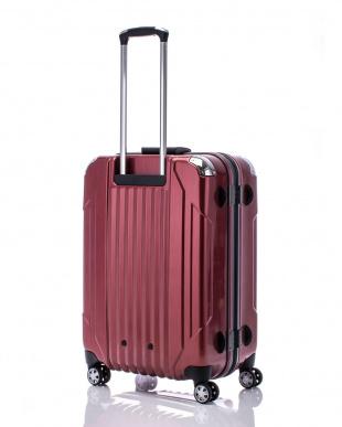 ヘアラインレッド  キャパリエフレームハードM スーツケース75L見る