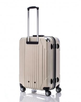 ヘアラインホワイト  キャパリエフレームハードM スーツケース75L見る