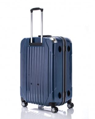 ヘアラインブルー  キャパリエフレームハードL スーツケース100L見る