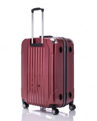 ヘアラインレッド  キャパリエフレームハードL スーツケース100L見る