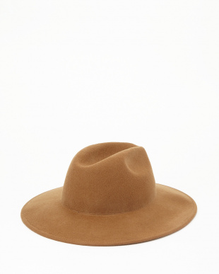Camel  Wool Hat見る