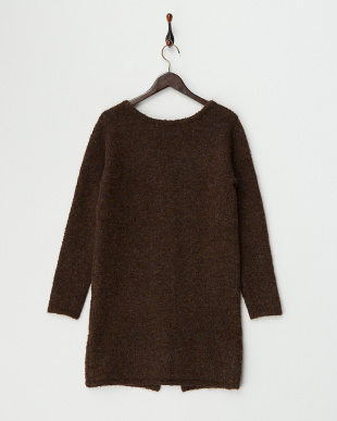 Brown  Long Knit Cardigan見る