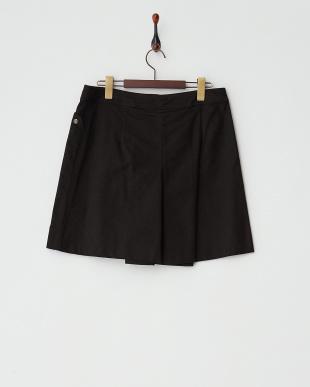 ブラック スカート風パンツ見る
