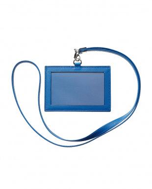 ブルー  RUFFINO(ID) FIN-CALF カードケース見る
