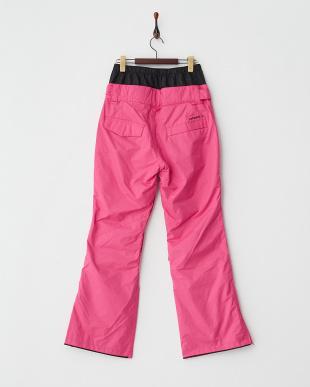 ピンク  レギュラーフィット スノーパンツ見る