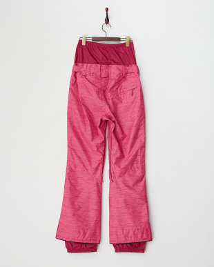 ピンク ファッションフィット スノーパンツ見る