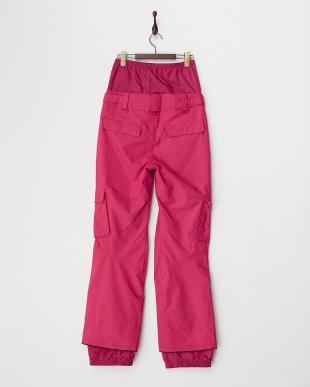 ピンク  IRIS LAZZ レギュラーフィット スノーパンツ見る