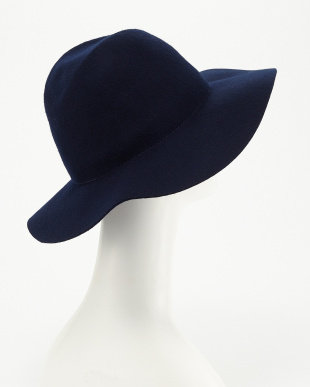 NVY  LONG BRIM WOOL FEDRA 2015見る