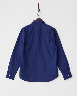 BLU  コットンプレーンシャツ WH見る