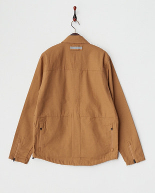 CANVAS GOLDEN BROWN  IKE WINDSHIRT ウインドシャツ見る
