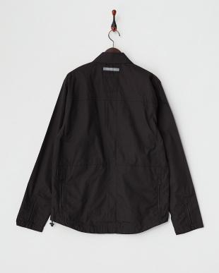 POPLIN BLACK  IKE WINDSHIRT ウインドシャツ見る