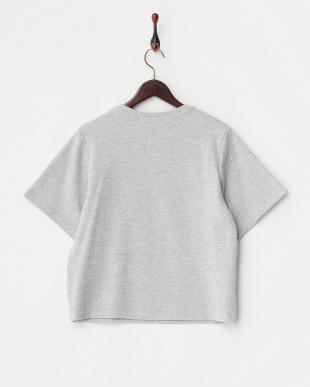 グレー メタルリングドットTシャツ見る