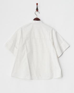 ホワイト  Aラインボードシャツ見る