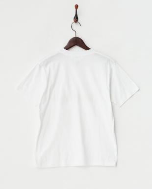 ホワイト bohem ロゴTシャツ見る