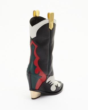 ブラック Western Boots見る