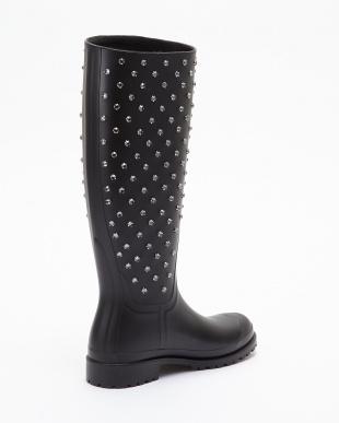 ブラック Rain Boots w/Str見る