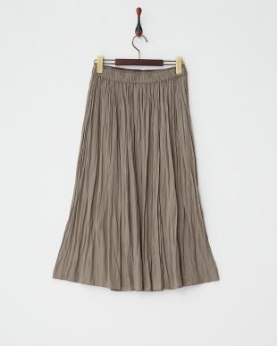 モカ  ギャザースカート見る