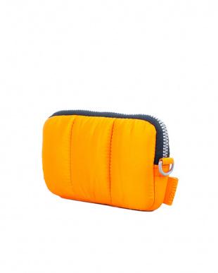 オレンジ  Toppa モバイルポーチ(4~5インチ)|Mozo見る