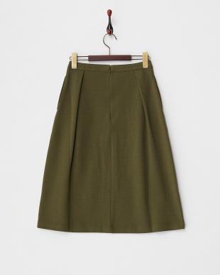 Khaki  ポンチデザインスカート見る