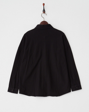 ブラック  カットカルゼ アーミーシャツ見る