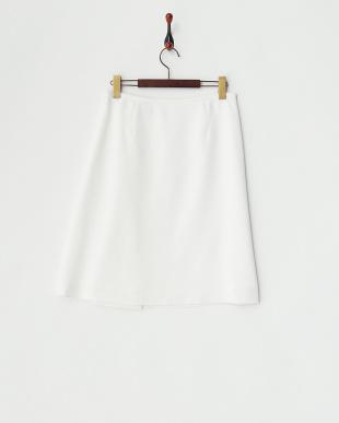 ホワイト サイドレースアップスカート見る