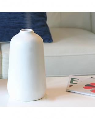 ホワイト Nordic Collection陶器 アロマ超音波式加湿器 M見る