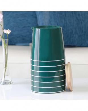 グリーン  Nordic Collection 陶器 アロマ超音波式加湿器 M見る