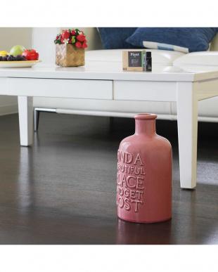 ピンク  VINTAGE Collection陶器 アロマ超音波式加湿器 M見る