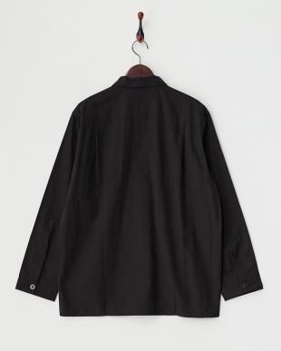 ブラック  ジャングルファティーグオープンカラーシャツ見る