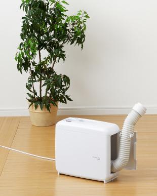 ホワイト さしこむだけのふとん乾燥機アロマドライ見る