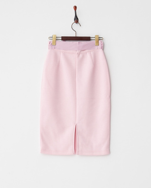 Pink  接結リボンベルトスカート見る