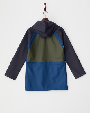 NAVY×SHELTER BLUE×OLIVE GREEN  VESTERHAVET WOMEN見る
