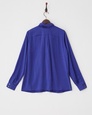 ブルー BARDO Shirt・シルク見る