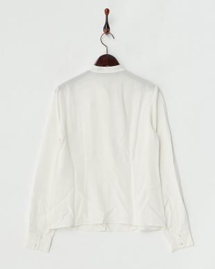 ホワイト BALZA Shirt・シルク見る