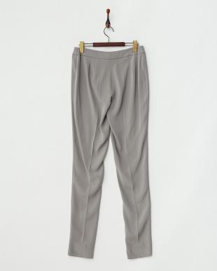 グレー RESPIRO Long pants・シルク混見る